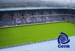 Stadium Cristal Arena (KRC Genk,Belgium) Postcard - Size: 15x10 Cm. Aprox. - Football