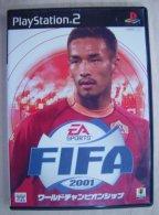 PS2 Japanese : FIFA 2001