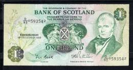 ESCOCIA 1986  1 LIBRA  BANK OF SCOTLAND    MBC..B151 - [ 3] Escocia