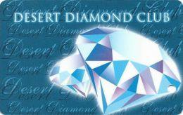 Desert Diamond Casino Tucson, AZ - 3rd Issue Slot Card - No Bear In Reverse Logo (BLANK) - Casino Cards