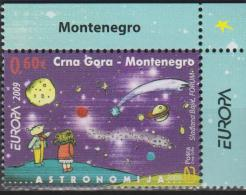 Montenegro Mi 206-207 Europa 2009 - Astronomy - 2009 * * - Montenegro