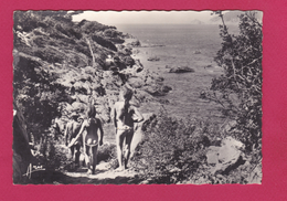 83- ILE DU LEVANT  -NATURISTES - NUS - Chemin De La Plage Des Grottes - Otros Municipios