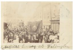(675) Very Old Postcard - Carte Ancienne - UK ? Steet March Event - Manifestazioni