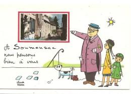 A SOUMENSAC NOUS PENSONS BIEN A VOUS - France