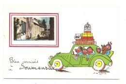 BIEN ARRIVES  A SOUMENSAC - France