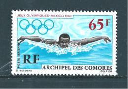 Colonie  Comores PA De 1969   N°25 Neuf ** - Poste Aérienne