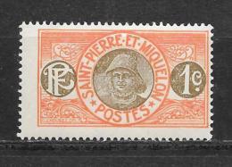 Saint Pierre Et Miquelon : Timbre De 1909-17 :  N°78 Chez Y Et T.  (Voir Commentaires) - France (ex-colonies & Protectorats)