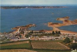 La Pointe De L´Arcouest : Embarcadere Des Vedettes Et Ile De Brehat (aérienne N°1986 Jack - Neuve) - Ploubazlanec