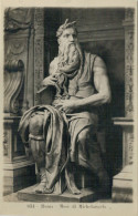 634   ROMA   MOSE'  DI  MICHELANGELO      (NUOVA) - Sculture