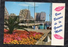 LA GRANDE MOTTE - Les Immeubles Bordant Le Port - Francia