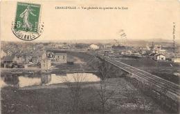 ARDENNES  08  CHARLEVILLE  VUE GENERALE DU QUARTIER DE LA GARE - Charleville