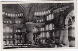 Istanbul - Sultan Ahmet Camii Dahili - (Interieur Mosque Ahmet) -  (Türkiye) - Turkije