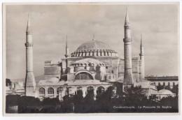 Constantinople - La Mosquée St. Sophie   -  (Türkiye) - Turkije