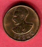 10 CENT 1936  ( KM 34) TTB 3 - Ethiopie