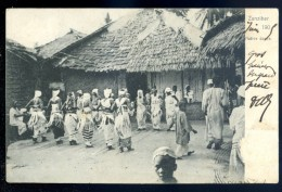Cpa De Zanzibar -- Native Dance -- Tanzanie     LIOB72 - Tanzanie
