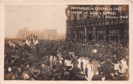 """-  LIMOGES  -  Carte-Photo Des Funérailles Du Général En Chef """" ALTMAYER """" Décédé Le 1 Er Décembre 1908 - Limoges"""
