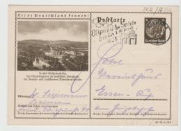 Oy177 / Olympiawerbung  Auf Bildganzsache (Kassel) - Sommer 1936: Berlin