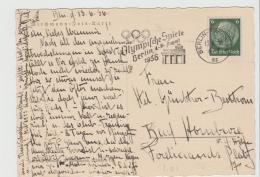 Oy180 / Olympiawerbun Berlin-Friedenau - Sommer 1936: Berlin