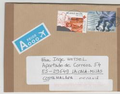 B363 / Neuer Brief 2016 Nach Spanien - Briefe U. Dokumente