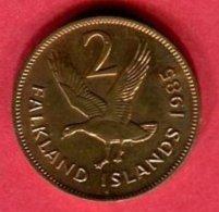 2 CENT 1985 ( KM 5) SUP 3 - Falkland