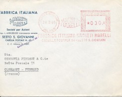 FABRICA ITALIANA MAGNETI MARELLI .......... - Marcofilia - EMA ( Maquina De Huellas A Franquear)