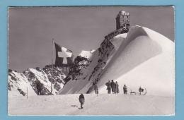 Kt Bern, JUNGFRAUJOCH, Meteorologische Station, Animiert // Gelaufen - BE Berne