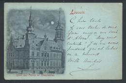 CPA - LOUVAIN - LEUVEN - Hôtel Des Postes Et Télégraphes  - 1898    // - Leuven
