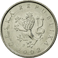 Monnaie, République Tchèque, Koruna, 2002, TTB+, Nickel Plated Steel, KM:7 - Tchéquie