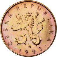 Monnaie, République Tchèque, 10 Korun, 1993, TTB, Copper Plated Steel, KM:4 - Tchéquie
