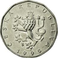 Monnaie, République Tchèque, 2 Koruny, 1995, TTB+, Nickel Plated Steel, KM:9 - Tchéquie