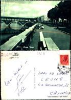 417k) Cartolina Di Pavia-lungo Ticino -viaggiata - Pavia