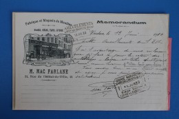 VERDUN     -          M.   MAC   FARLANE            1910 - Lebensmittel