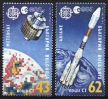 Europa CEPT 1991 BULGARIA Space - Fine Set MNH - 1991