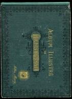 Album Illustré De Timbres-poste Arthur Maury 1936 .vide - Albums & Reliures