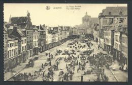 CPA - LOUVAIN - LEUVEN - Le Vieux Marché - Nels   // - Leuven