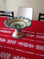 COUPE à FRUITS Vintage Signée :NOS - FF - Dishes