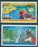 Europa CEPT 1999 BULGARIA National Parks - Fine Set MNH - Europa-CEPT