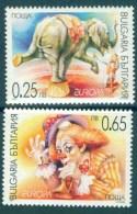Europa CEPT 2002 BULGARIA Circus Art - Fine Set MNH - Europa-CEPT