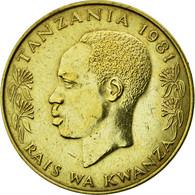 Monnaie, Tanzania, 20 Senti, 1981, TTB+, Nickel-brass, KM:2 - Tanzania