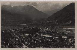 Bellinzona - Panorama Generale - 1222 - TI Tessin