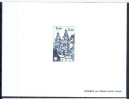 FRANCE - N° 2370 épreuve De Luxe (deluxe Proof) 58 ème Congrès De La Fédération Des Sociétés Philatéliques. Tours. - Luxury Proofs