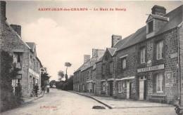 """¤¤  -  SAINT-JEAN-des-CHAMPS   -   Le Haut Du Bourg  -  """" LEVESQUE """" Débitant    -  ¤¤ - Non Classés"""