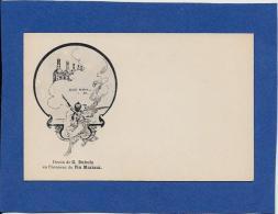 CPA Vin Mariani Album Publicité Publicitaire Non Circulé Art Nouveau Dessin De DUBUFE - Publicité