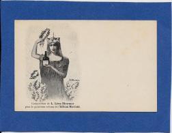 CPA Vin Mariani Album Publicité Publicitaire Non Circulé Art Nouveau Dessin De LEVY DHURMER - Publicité