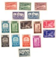 Spagna 1930 - 1936 Lotto Di 16 Francobolli Misti  Nuovi Linguellati  Fra.712 - Nuovi