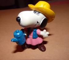 SNOOPY Peanut Hong Kong WESTERN COW BOY FEMME A LA CAFETIERE / 6.5 CM - Snoopy