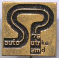 AMD YUGOSLAVIA - Car, Auto, Automotive, Racing, Vintage Pin, Badge - Automobile - F1