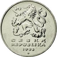 Monnaie, République Tchèque, 5 Korun, 1993, TTB+, Nickel Plated Steel, KM:8 - Tchéquie