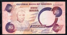 NIGERIA 2003. 5 NAIRA TIPO ABUBAKAR BALEWA .MBC.PICK Nº 324 VER FOTO.B353 - Nigeria