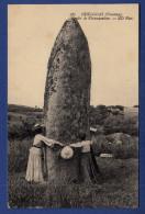 29 HUELGOAT Menhir De Kérampeulven - Animée - Huelgoat